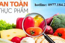Cấp giấy chứng nhận đủ điều kiện an toàn thực phẩm đối với cơ sở sản xuất thực phẩm
