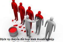Luật Thành Thái tư vấn chuyển đổi loại hình doanh nghiệp
